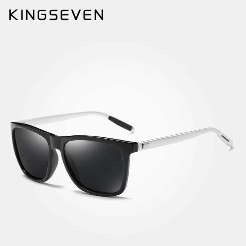 bbcede76921 KINGSEVEN Brand Aluminum Frame Sunglasses Men Polarized Mirror Sun glasses  Women s Glasses Accessories N787