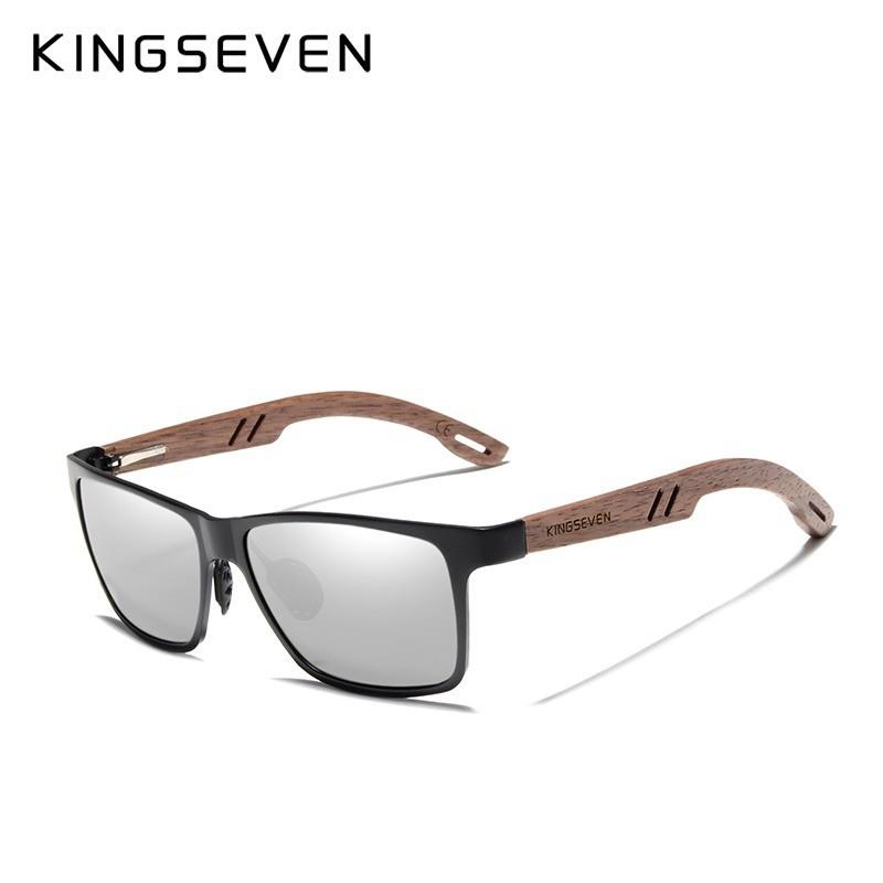 Kingseven Wooden Sunglasses